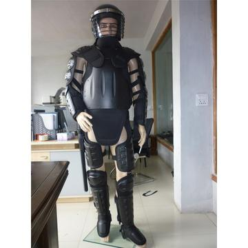 Riot Gear in Full Body Armor Suit