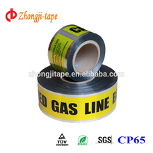 Non-pollution 7.5cm width underground detectable tape