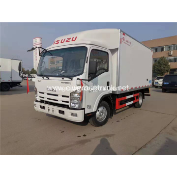 ISUZU 4x2 medium duty refrigerated vehicle