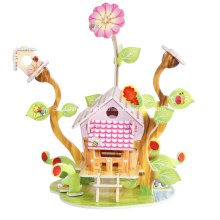 3D Charming Greenhouse Puzzle