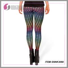 Sexy Fashion Lady Elastic Leggings Print Leggings Sublimation Print Leggings
