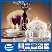 82pcs ceramic tableware set china porcelain dinner ware set wholesale