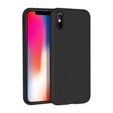 liquid silicone case for apple iphone x covers