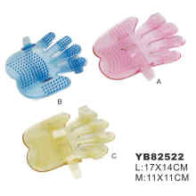 Petggrooming cepillo, guantes de la mano (YB82522)