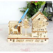 Nouveau design en bois puzzle jouet boîte à musique pour les enfants