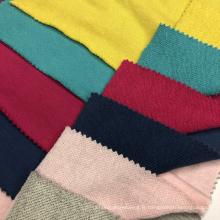 Tissu doux CVC Terry Knitting Hoddies