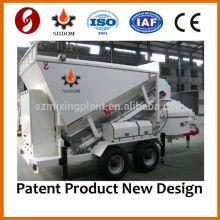 Mini Mobile Equipos de producción de durmientes de hormigón equipos de hormigón prefabricado MB1200