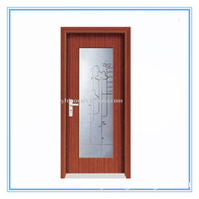 New Design and Hot Sale PVC Wooden / Interior Glass Doors