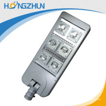 Aluminum body Led Street Light With Solar Panel 300w adjust rechargeable