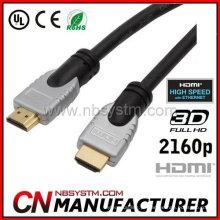 Cabo HDMI rotativo 180