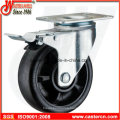 5 Inch Nylon Swivel Caster with Double Brake