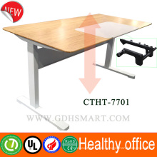 Manual rocker height adjustable desk modern furniture executive desk