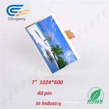 7 Inch 1024 (RGB) X600 350 CD/M2 Touch Screen