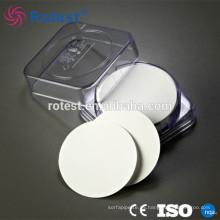 Filtro de membrana de fibra de vidrio 25 mm / 47 mm / 50 mm / 60 mm