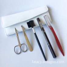 5pcs Cosmetics Eyebrow Grooming Set Manicure Set