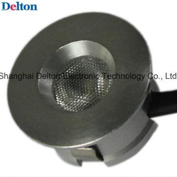 0.5W Silver Colour Round Mini LED Cabinet Light (DT-DGY-010B)