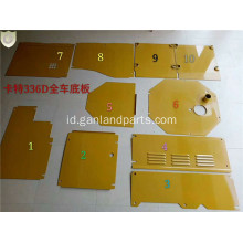 CAT 336D Group Bottom Covers Sheet Metal