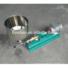 sanitary stainless steel 304 or 316 industrial screw transporting pump