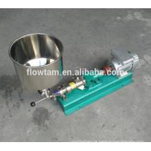 Aço inoxidável sanitário 304 ou 316 bomba de transporte de parafuso industrial