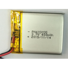 400mAh Lithium Ion Polymer Battery For Recorders (LP3X3T4)