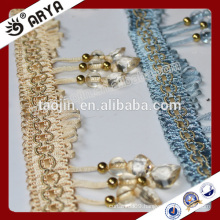 2016 Stock Product Clearance for curtain accessories of Three Heart-shaped Beaded Fringe