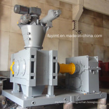 High capacity urea fertilizer granulator