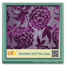 2015 nouveau design vente chaude polyester polyester polyester chenille tissu