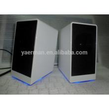 2014 цвет светодиодных динамиков компьютера, hifi динамик