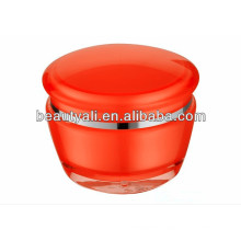 Luxury Plastic Acrylic Cosmetic Jar 15g 30g 50g