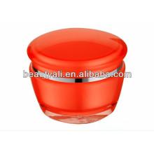 Frasco de plástico de luxo acrílico cosméticos 15g 30g 50g