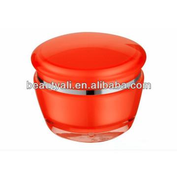 Tarro cosmético plástico de lujo 15g 30g 50g