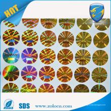 Pegatina holo de la protección falsa de la marca de fábrica de 3D
