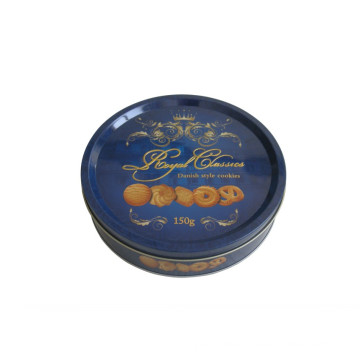 Round Cookie Tin Can Bascuit 2017 New Design