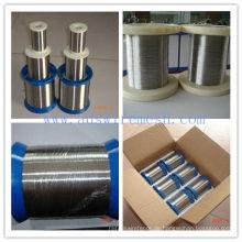 Material SUS304 0.13mm Edelstahl Draht (ISO9001)