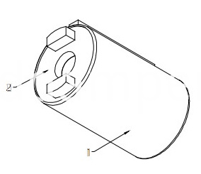 Barrel Damper For Small Cover Plate