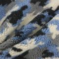 75% полиэстер 25% акрил из многоцветной шерстяной ткани