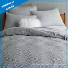 Conjunto de cama de algodão, capa de edredão