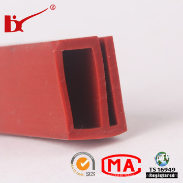E Section Silicone Rubber Seal