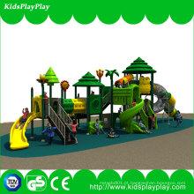 Wenzhou usou o equipamento exterior da corrediça do campo de jogos das escolas das crianças com balanço