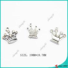 Breloque Couronne en alliage de zinc métal (SPE)