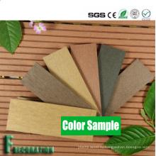 Деревянный пластичный составной decking WPC декоративная террасная доска