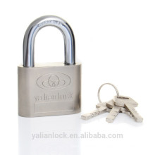 Niquelado Big Round Corner Padlock Long / Short Shackle
