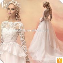 Vestidos de boda atractivos de la princesa del vestido de bola de la gasa Vestidos de boda