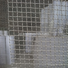 Galvanis Crimping Woven Wire Mesh
