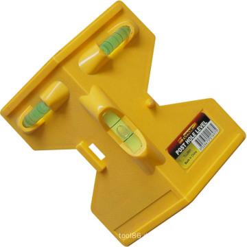 Messende Pfosten-Loch-Niveau-Plastikmaß-Werkzeuge Soem