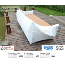 white three seater swedish sofa