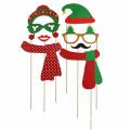 Fiesta de cumpleaños de la barba de la marca FQ Máscara divertida de la Navidad
