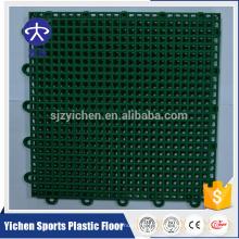 Tuiles d'interverrouillage de l'usine directes de PP tuiles extérieures d'interlock durables de terrain de basket