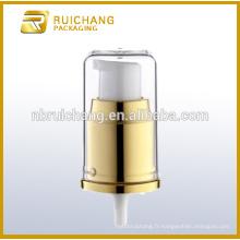 Pompe à crème en aluminium de 20 mm avec surcharge AS