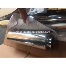 304 bobines sanitaires à double paroi en acier inoxydable 316
